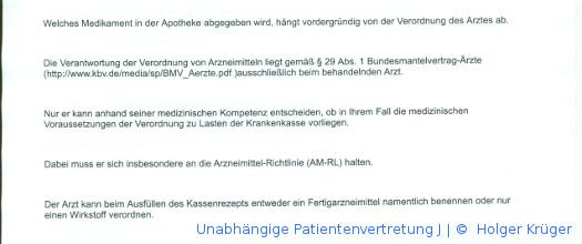 Unabhängige Patientenvertretung