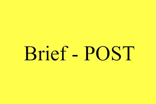 Das Postwesen im Hospiz Wahnsinn | J