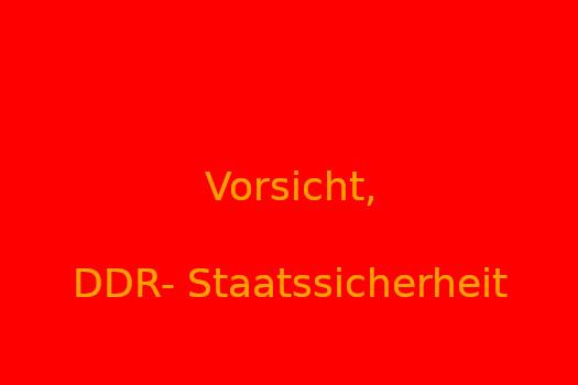 Vorsicht DDR-Staatssicherheit | J by Holger Krüger